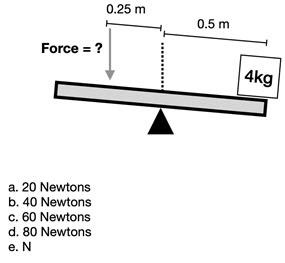 Mechanical Reasoning Aptitude Test Question 5